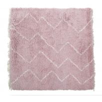 Villamatto Mums Vadelma, 120x120cm, roosa