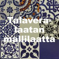 MX Kivi Talavera-laatan mallilaatta