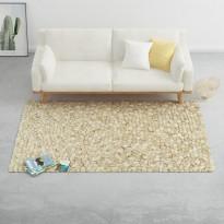 Matto villahuopa pikkukivet 80x150 cm beige/harmaa/ruskea