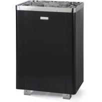 Sähkökiuas Narvi Ultra Small, 9kW, 8-14m³, erillinen ohjaus, musta
