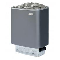 Sähkökiuas Narvi NM 600, 6.0kW, 6-9m³, kiinteä ohjaus, harmaa