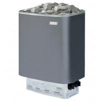 Sähkökiuas Narvi NM 900, 9.0kW, 9-15m³, kiinteä ohjaus, harmaa