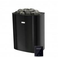 Sähkökiuas Narvi NCE Electric, 6.0kW, 4-9m³, WIFI ohjaus, musta