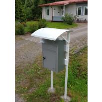 Postilaatikon katos Kikka, kahdelle laatikolle