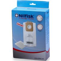 Pölypussi Nilfisk Select, 4 kpl + moottorin suodatin