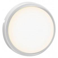 LED-ulkovalaisin Nordlux Cuba Energy Round, Ø175mm, IP54, valkoinen