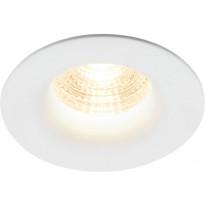 LED-alasvalo Nordlux Stake, Ø88x53mm, 2700K, himmennettävä, eri värejä