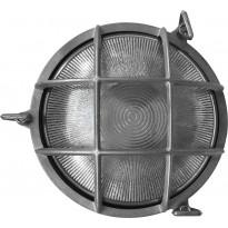 Seinävalaisin Nordlux Polperro, ø195x93mm, nikkeli