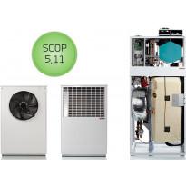 Ilma-vesilämpöpumppu Nilan Compact PC AIR9
