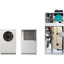 Ilma-vesilämpöpumppu Nilan Compact PC AIR9 XL