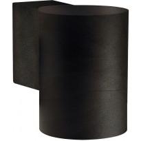 Ulkoseinävalaisin Nordlux Tin Maxi, IP54, musta