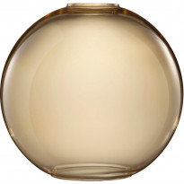 Valaisimen lasikupu Nordlux Askja Air, 23,3cm, meripihka