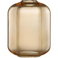 Valaisimen lasikupu Nordlux Askja Edge, 27,2cm, meripihka