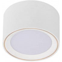 LED-alasvalo Nordlux Fallon, 6cm, valkoinen