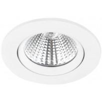 LED-alasvalo Nordlux Fremont, 2700K, valkoinen