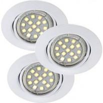 LED-alasvalosarja Nordlux Triton SMD, IP23, valkoinen