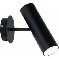 Seinävalaisin Nordlux MIB 6, 20cm, musta