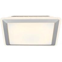 LED-plafondi Nordlux Salsa 27, valkoinen