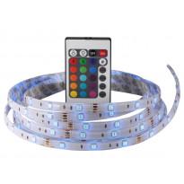LED-nauha Nimba 3M IP65 20W RGB 3000mm, + muuntaja + kauko-ohjain