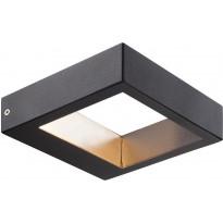 LED-ulkoseinävalaisin Nordlux Avon, 15x15x4cm, musta