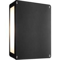 LED-ulkoseinävalaisin Nordlux Tamar Panel, musta