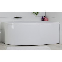 Kylpyamme Noro Soft 1600x1000mm vasen, valkoinen