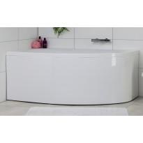 Kylpyamme Noro Soft 1600x1000mm oikea, valkoinen