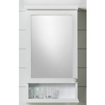 Peilikaappi Noro Alice 420x140/210x750 mm valkoinen matta LED-valaistuksella ja pistorasialla