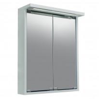 Peilikaappi Noro Alva 600, matta valkoinen, 600x115/200x685mm