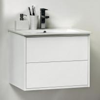 Allaskaappi Noro Avanti 600, kiiltävä valkoinen, 590x450x460mm