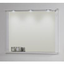 Peili Noro Sundborn 900 valaistuksella ja pistorasialla valkoinen matta