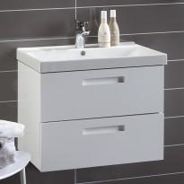 Allaskaappi Noro Relounge 600, kiiltävä valkoinen, 585x415x450mm
