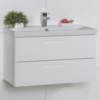 Allaskaappi Noro Relounge 800, kiiltävä valkoinen, 785x415x450mm