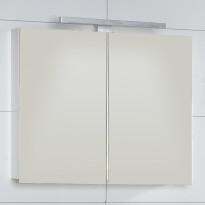 Peilikaappi Noro Relounge 800 kiiltävä valkoinen