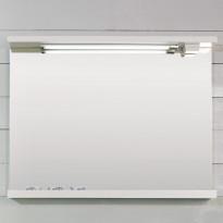 Peili Noro Ocean 900, matta valkoinen, 900x140/120x700mm
