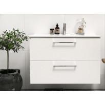 Allaskaappi Noro Home 900, valkoinen matta
