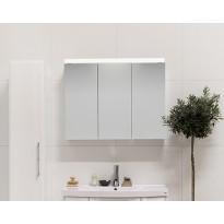 Peilikaappi Noro Flex 300, valkoinen, avautuu vasemmalle