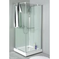 Suihkukaapin ovi + allas Noro Ocean 79C, 700x900x2040 mm, lasi kirkas