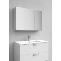 Peilikaappi Noro Flex 900, valkoinen matta