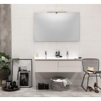 Kylpyhuonekaluste Noro Lifestyle Concept 1200duo, pesualtaalla ja laatikostoilla, matala