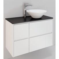Kylpyhuonekaluste Noro Lifestyle Concept 900, malja-altaalla ja laatikostolla, korkea, oikea tai vasen
