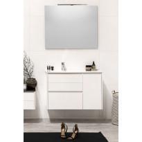 Kylpyhuonekaluste Noro Lifestyle Concept 900, pesualtaalla, laatikostolla ja sivukaapilla, korkea, oikea tai vasen