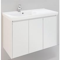 Kylpyhuonekaluste Noro Lifestyle Concept 900, pesualtaalla, allaskaapilla ja sivukaapilla, korkea, oikea tai vasen
