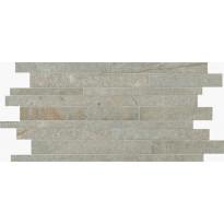 Mosaiikkilaatta NovaBell Avant Muretto IN Silver, 30x60, harmaa