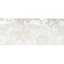 Seinälaatta NovaBell Class Damascato Bianco, 26x61, valkoinen