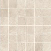 Mosaiikkilaatta NovaBell Crossover Mosaico Sabbia, 30x30/5x5, beige