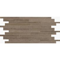 Mosaiikkilaatta NovaBell Crossover Mattoncino Brown, 30x60, ruskea
