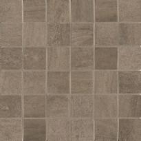 Mosaiikkilaatta NovaBell Crossover Mosaico Brown, 30x30/5x5, ruskea