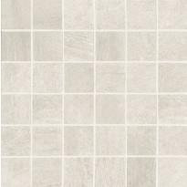Mosaiikkilaatta NovaBell Crossover Mosaico Avorio, 30x30/5x5, valkoinen