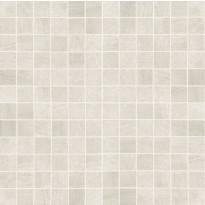 Mosaiikkilaatta NovaBell Crossover Mosaico Avorio, 30x30/2,5x2,5, valkoinen